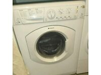 Hotpoint Aquarius 7kg Washing Machine and Washer Dryer only near 2 yrs old
