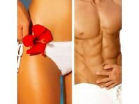 *FEMALE £28 MALE £50 Hollywood WAXING* Thur, Fri and Sat.