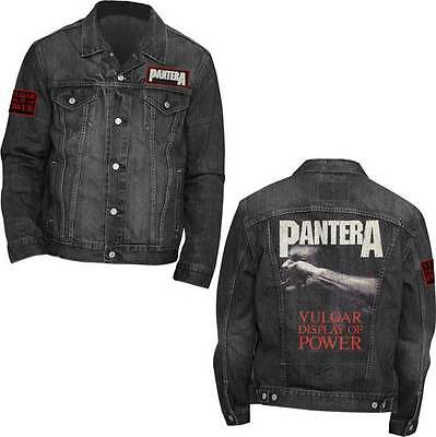 Pantera Vulgar Display Of Power Music Rock Metal Band Denim Jacket 31513001 - Pantera Rock Music Band