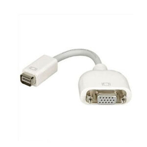 New Mini DVI to VGA Display Adapter Cable cord For Apple Mac same day shipping
