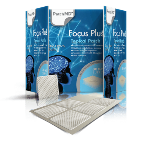 PatchMD Focus Plus - Topical Patch (30 Day Supply) - EXP 2022 3