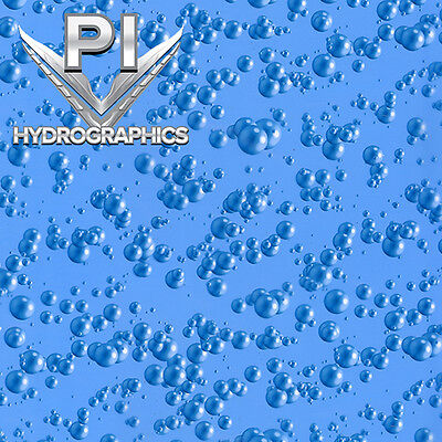 Hydrographic Film Hydro Dipping Water Transfer Printing Film Blue Bubbles Ll170