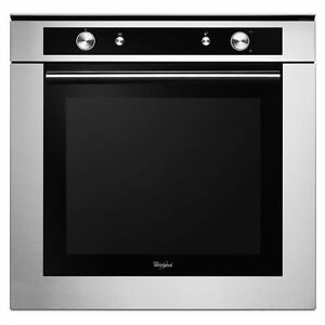 "Whirlpool WOS52EM4AS Stainless Steel 24"" Single Wall Oven"