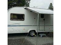 Sterling Eccles Topaz 2 berth caravan 2005