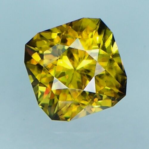 1.38ct Natural Sphene , Custom Cut , Madagascar , Video Link In Description