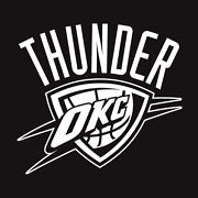 Oklahoma City Thunder Decal