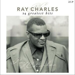 Ray Charles 24 GREATEST HITS BEST OF New Sealed VINYL 2 LP
