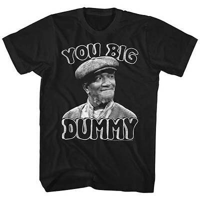 Sanford   Son Funny Tv Show You Big Dummy Adult T Shirt Redd Foxx