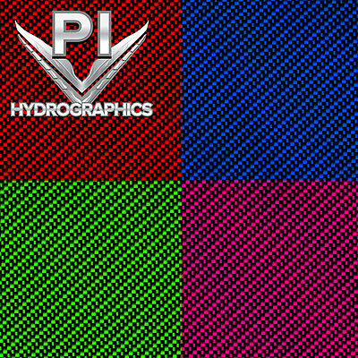 Hydrographic Film Hydro Dipping Hydrodip Large Black Clear Carbon Fiber Cf-01-12