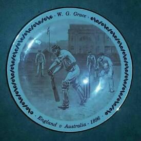 W G Grace Royal Doulton Collectors plate