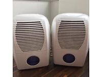 2 x Dehumidifiers (10 Litre). Selling as a pair