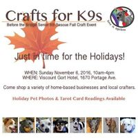 Crafts for K9 Craft Fair Holiday Pet Portraits!