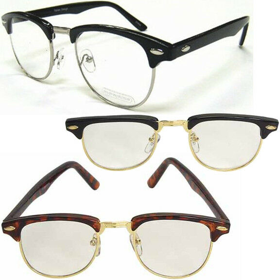 Nerdy Soho Glasses (Choose Your Color) Black Gold Silver Tortoise Malcolm X