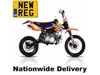 STOMP SUPERSTOMP 125RL Model* Road Legal Pitbike - Nationwide Delivery. CBT Learner Legal Pit Bike