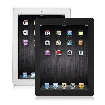 Apple iPad 4th Generation 16GB Tablet w' Retina Display, Wi-Fi Black White A1458