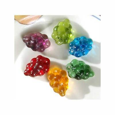 GRAPES GLASS BEADS HARVEST MIX GREAT FOR WINE CHARMS