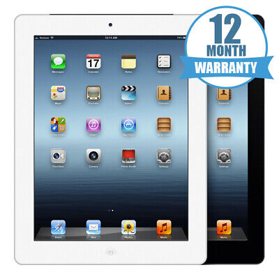 Apple iPad 3rd Generation 16/32/64 Space Grey/Silver Wifi 12 Months Warranty