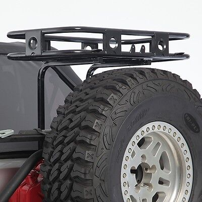 2007-2017 Jeep Wrangler & Unlimited Defender Tailgate Trail Rack Basket