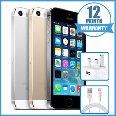 Apple iPhone 5S 16GB/32GB/64GB Space Grey/Silver/Gold Unlocked iPhone Free Del