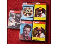 Elvis cassette tapes x 5