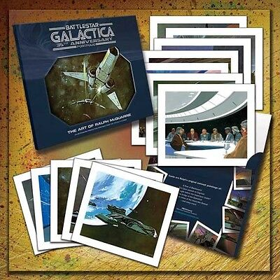 Battlestar Galactica 35th Anniversary Portfolio - Ralph McQuarrie TOS Viper BSG