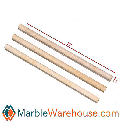 Pencil Molding - NOCE TRAVERTINE  PENCIL MOLDING BULLNOSE for wall