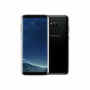 "LIKE NEW-128GB Samsung Galaxy S8 ""BLACK"" with all Accessories"