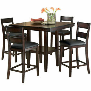 5 pc dinning room table and chairs