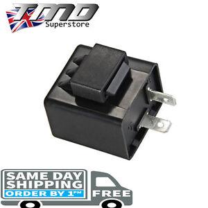 2 Pin Motorcycle Indicator 12v Flasher Relay Motorbike LED Turn Signal Unit Pit