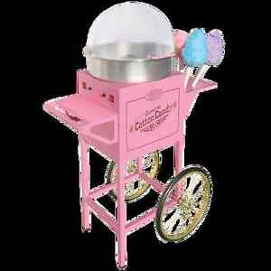 Nostalgia Old Fashioned Cotton Candy Machine