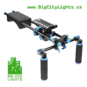 Big City Model 1 Shoulder Rig, add some stability to your shots!