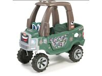 Little tikes cozy truck off roader ride on