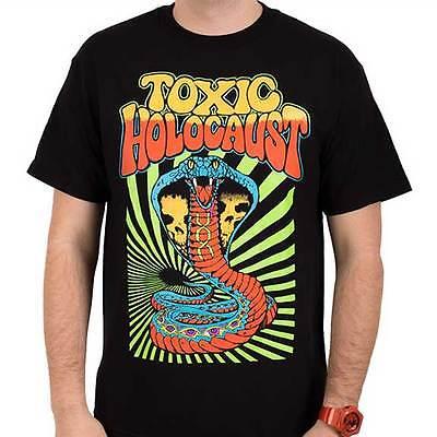 Toxic Holocaust   Hola Cobra   T Shirt S M L Xl 2Xl Brand New   Official T Shirt