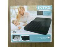Intex premium self inflating double air mattress