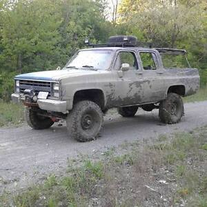 lifted 4x4 4Door Chevy For Sale or Trade for? Make an offer