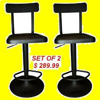 BRAND NEW METAL BLACK MATTE FINISH BAR STOOL $149.99 ONLY