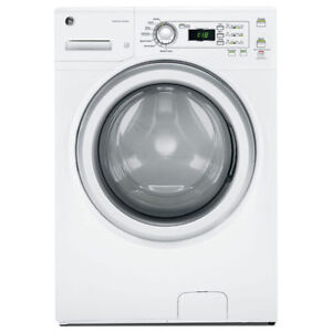Front Load GE Washers or Dryers with ENERGY STAR For Sale White