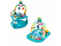 Brand New Baby Einstein Lights and Sea Gym and Activity Saucer