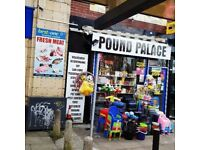 business pound shop( discount store) for sale