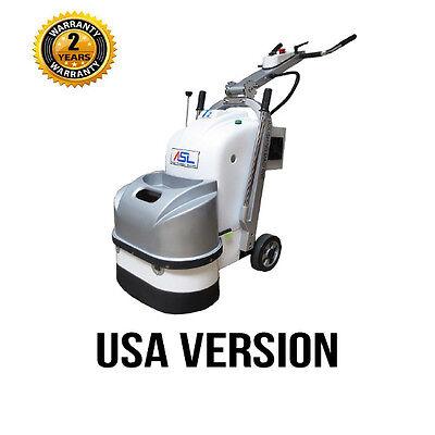 ASL T2 Concrete Grinding & Polishing Machine 220V 1 or 3 Phase 5HP USA Version