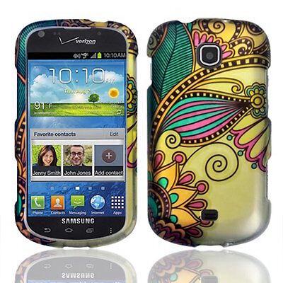 Design Rubberized Hard Protective Cover Case for Samsung Galaxy Stellar i200 (Samsung Galaxy Stellar Hard Case)