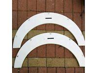 Caravan wheel arch