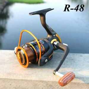 R-48 GROS Moulinet (Reel) à pêche 12+1 bearings 0.60mm/215m VVV