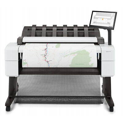 Hp Designjet T2600 36 Inch Plotter Copier Scanner Wide Format Dual Roll