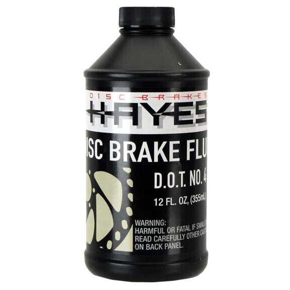 Hayes Brake DOT-4 Hydraulic Brake Fluid, 12oz Bottle
