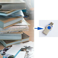 Need to digitize your numerous photo albums, photos & documents?