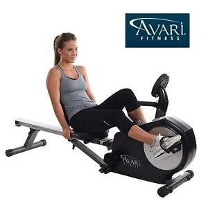 NEW* AVARI ROWER/RECUMBENT BIKE CONVERSION II - EXERCISE BIKES ROWER RECUMBENT EQUIPMENT MACHINE GYM WORKOUT ROW