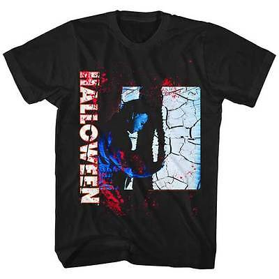 ers Zerschmettert Glas Erwachsene Shirt Great Filmklassiker (Filmes Halloween-michael Myers)