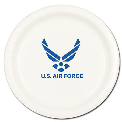 AIR FORCE DESSERT PLATES Party Supplies FREE SHIPPING