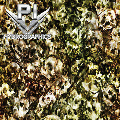 Hydrographic Film Hydro Dipping Water Transfer Printing Film Skull Camo Rc310